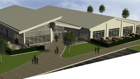 An image of what a new leisure centre on the site of the old Pontins swimming pool could look like u
