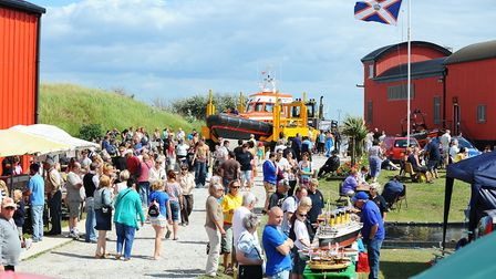 FLASHBACK: Caister Lifeboat's annual fete in 2011. The event raises more than £10,000 in a single da