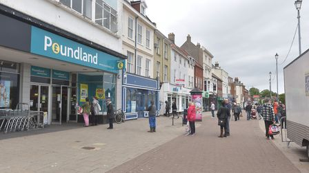 Great Yarmouth town centre. Market place, shops reopening as lock down is lifted.Pictures: BRITTANY