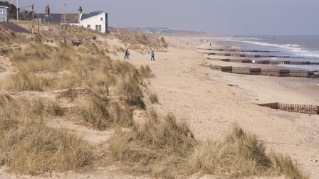The beach at Caister, one of Britain's most desirable seaside locations according to Rightmove Pictu