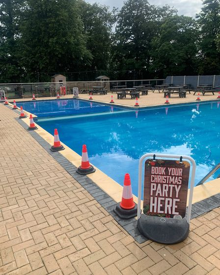 Burgh Hall in Great Yarmouth is re-opening its outdoor pool, but it will not be heated until next ye
