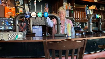 Sarah Hamer, 51, new landlord at the Theatre Tavern in Great Yarmouth. Picture: Courtesy of Sarah Ha