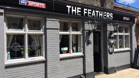 The Feathers in Great Yarmouth. Picture: Joseph Norton