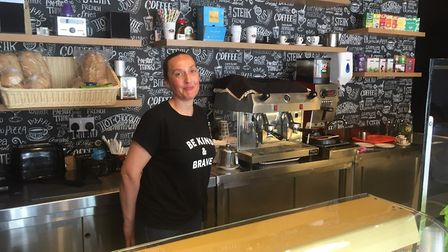 Luisa Ventura of Coffee Ventura II has been heartened by the early success of the new cafe she runs