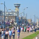 A busy day on Great Yarmouth seafront. Picture: James Bass