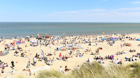The beach at Hemsby in 2015. Picture: James Bass
