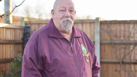 Gorleston resident Pete Marney has looked out on a constantly burning streetlight from his kitchen w