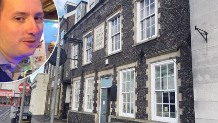 Landlord Andrew Livingstone/The Dukes Head pub in Great Yarmouth. Picture: Liz Coates/Submitted