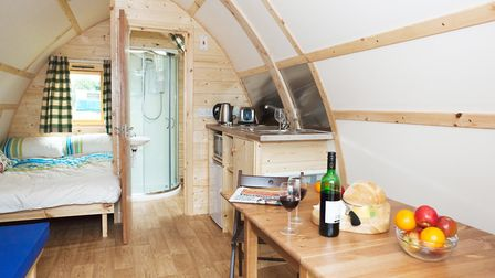 A Burgh Castle farm and fishery is bidding to join the Wigwam Holidays' franchise which operates gl