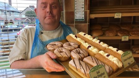 Edward Shearing, owner of The New Norfolk Oven and Shearings Bakery in Great Yarmouth. Picture: Jose