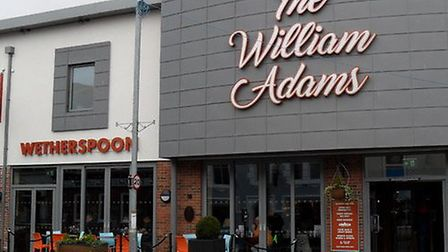 The William Adams is a branch of the popular Whetherspoons chain. Photo: Archant