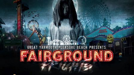 Great Yarmouth Pleasure Beach is lauching a new Halloween event called Fairground Frights Picture: T
