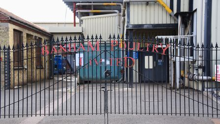 Banham Poultry in Attleborough, where there has been an Covid-19 outbreak. Picture: DENISE BRADLEY
