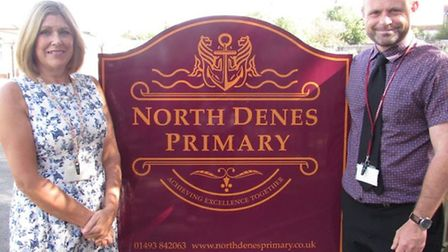 North Denes Primary School in Great Yarmouth has asked its year one class to stay home for the next