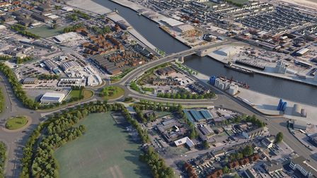 Great Yarmouth's vision for a Third River Crossing, for which construction will begin in 2021 and be
