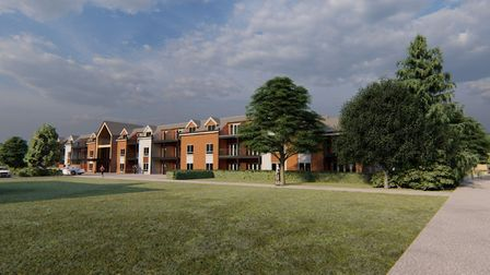 Images have been released showing what new homes in Acle could look like Picture: Ingleton Wood