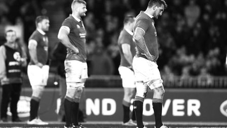 Lions captain Sam Warburton is dejected during the first test of the 2017 British and Irish Lions to