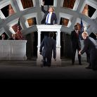 Gregg Henry plays a Trump-like leader in the controversial production of Julius Caesar