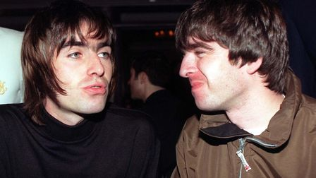 Liam and Noel Gallagher, 2003