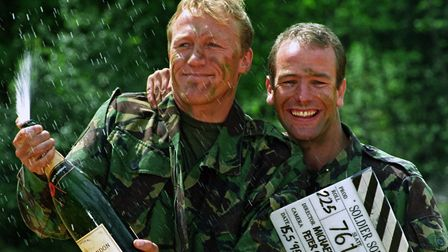 Jerome Flynn and Robson Green