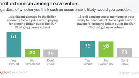 You Gov's Leavers poll
