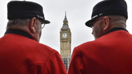 Big Ben has fallen silent and will remain so (special occasions aside) for four years. Photo: Xinhua