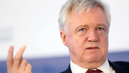 There have been rumours of a rift between Brexit Secretary David Davis and civil servant Oliver Robb