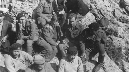 William Stanley Moss, General Kreipe, Patrick Leigh Fermor and the Abduction Gang - Photograph The