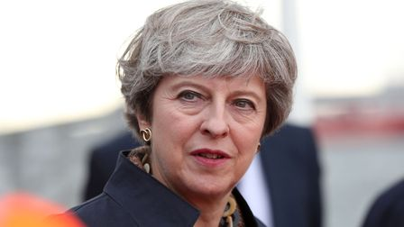 Theresa May is trying to stop a Tory rebellion