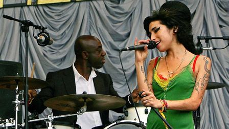 Amy Winehouse at Glastonbury 2007. Photo:AFP/Getty Images.
