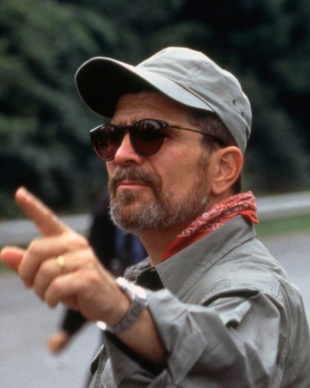 David Mamet on the set of Heist in 2001. Photo: Cover Images