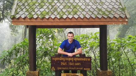 Lee Humphries at Doi Inthanon in Thailand.
