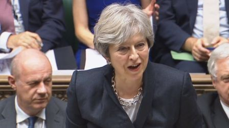Prime Minister Theresa May updates MPs on Brexit negotiations.