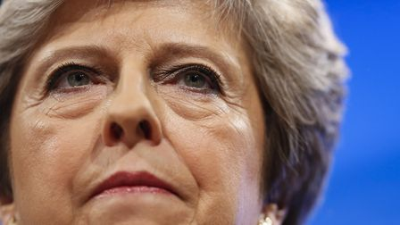 Theresa May has been told Article 50 is reversable. (Xinhua/Han Yan) (zjy)