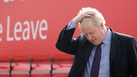 Boris Johnson during a Vote Leave campaign event. Photo: PA Archive/PA Images.
