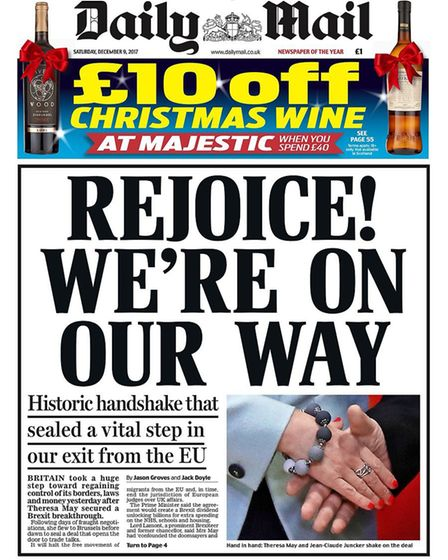 The Daily Mail seems to have crossed its own red lines.