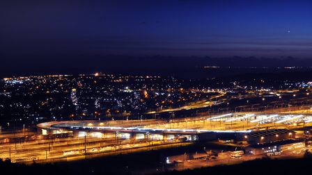 The Channel Tunnel at Folkestone is an example of what Europe can do. Photo: Archant