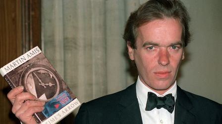 Martin Amis at the Booker Prize ceremony in London. Picture: PA