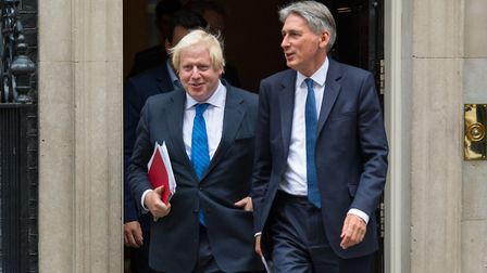 Foreign secretary Boris Johnson (left) and chancellor Philip Hammond. Photo: PA