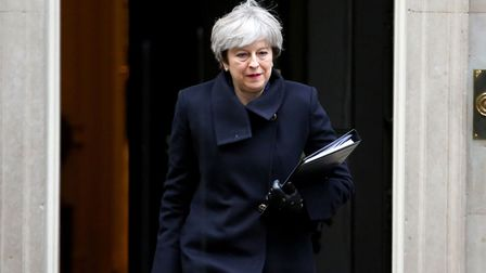 Prime Minister Theresa May. Photo: PA Wire/PA Images.