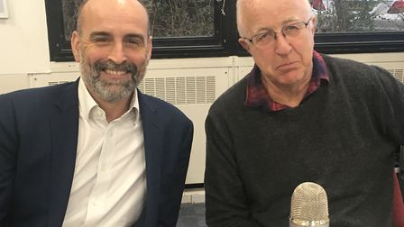 Mat Kelly interviewing former Europe Minister Denis MacShane