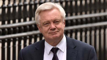 Brexit Secretary David Davis, who will return to Brussels for talks in March. Picture: PA