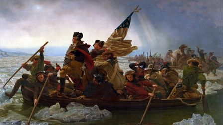 Washington Crossing the Delaware by Emanuel Leutze, 1851. Picture: Submitted