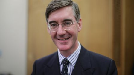 Tory Eurosceptic MP Jacob Rees-Mogg