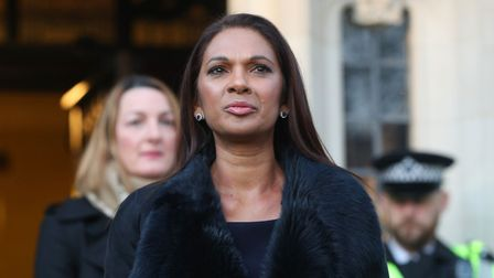 Gina Miller arriving at The Supreme Court, London where Britain's most senior judges will ruled Ther