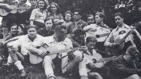 Edelweiss Pirates youth group in Nazi Germany. They emerged in western Germany out of the German You