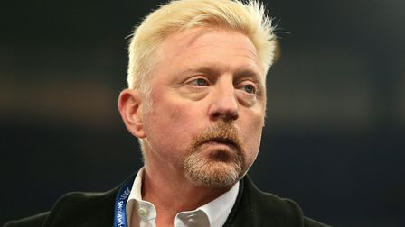 Boris Becker. Picture: PA