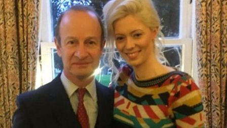 Henry Bolton and Jo Marney. Photo: Twitter.