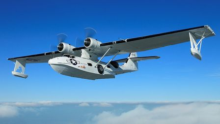 The Catalina flying boat. Picture: John Dibbs