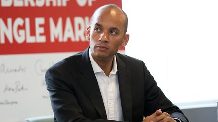 British Labour politician Chuka Umunna spoke to Matt Kelly about his opposition to Brexit. Picture: